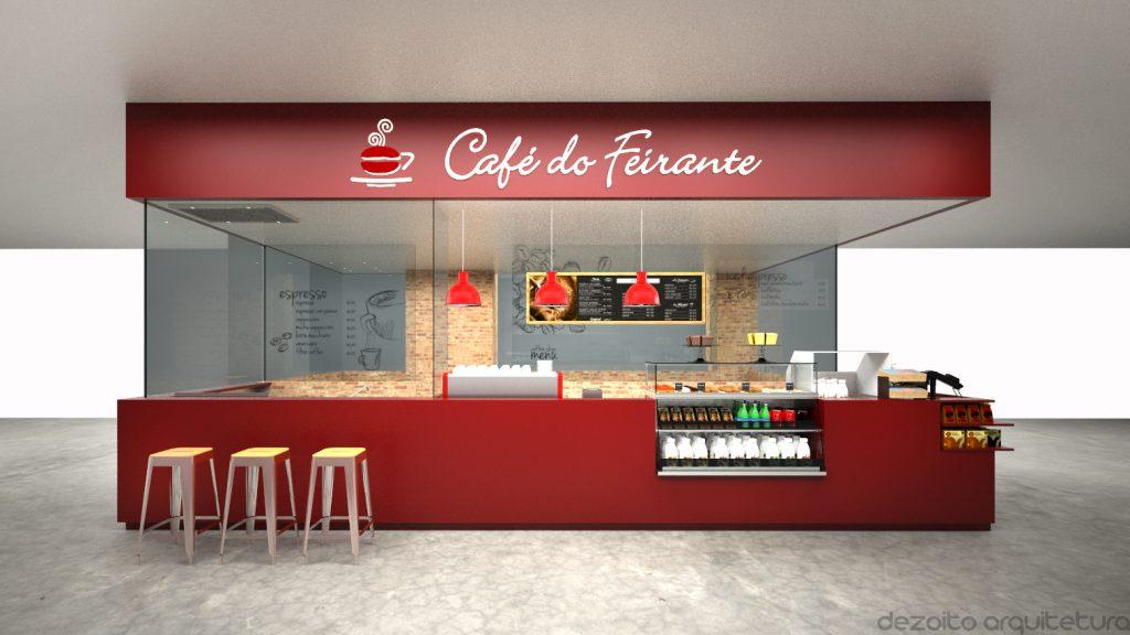 CAFÉ DO FEIRANTE - PROJETO ARQUITETÔNICO