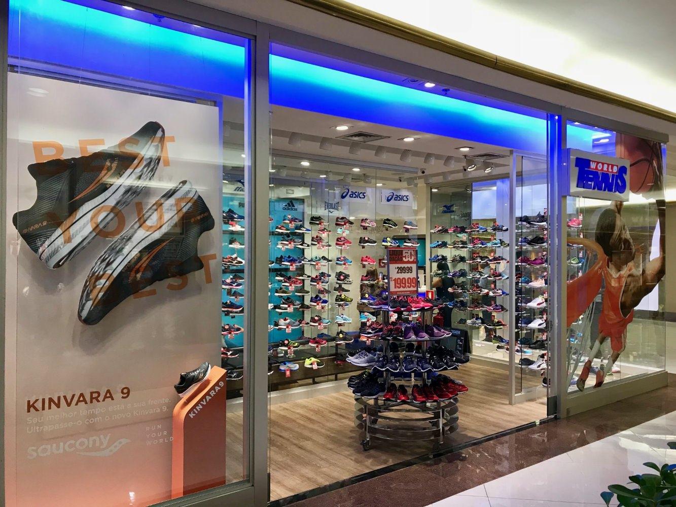 Franchising de loja de tênis e calçados